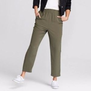 a new day Paper Bag Waist Ankle Length Pants